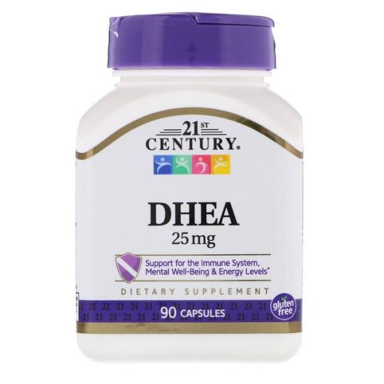 DHEA-25 mg, 90 kapszula - 21st. Century
