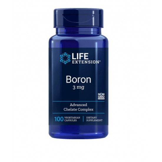 Bór 3 mg, 100db Vegetáriánus kapszula - Life Extension